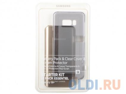 Фото «Чехол Samsung EB-WG95EBBRGRU для Samsung Galaxy S8 + защитное стекло черный» в Москве