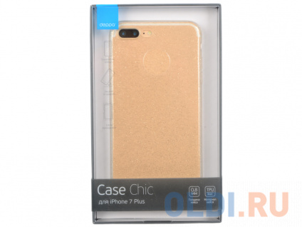 Фото «Чехол Deppa Chic Case для Apple iPhone 7 Plus / iPhone 8 Plus, золотой, 85300» в Санкт-Петербурге