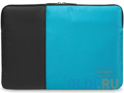 """Фото «Чехол для ноутбука 15.6"""" Targus TSS95102EU нейлон черный/синий» в Новосибирске"""