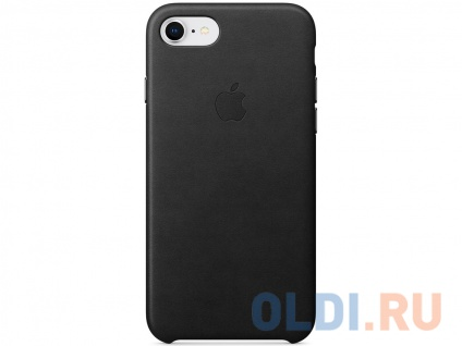 "Фото «Накладка Apple ""Leather Case"" для iPhone 7 iPhone 8 чёрный MQH92ZM/A» в Санкт-Петербурге"