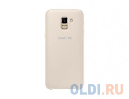 Фото «Чехол-накладка для Samsung Galaxy J6 2018 Samsung Dual Layer Cover Gold» в Екатеринбурге