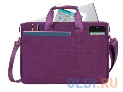 """Фото «Сумка для ноутбука 15.6"""" Riva 8335 полиэстер пурпурный» в Нижнем Новгороде"""