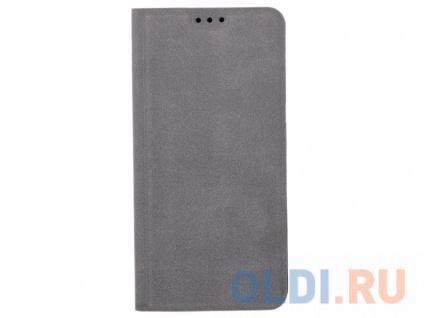 Фото «Чехол Book Case для Samsung Galaxy A8, экозамша, серый, BoraSCO» в Новосибирске