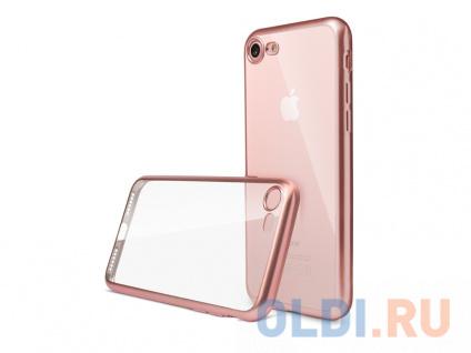 Фото «Чехол Deppa Gel Plus Case матовый для Apple iPhone 7/8, розовое золото» в Санкт-Петербурге