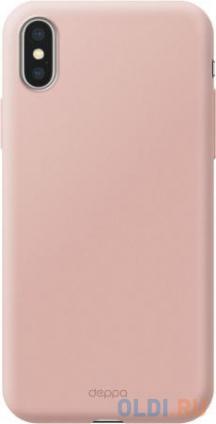 Фото «Чехол Deppa Air Case для Apple iPhone X/XS, розовое золото» в Екатеринбурге