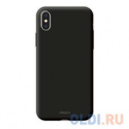 Фото «Чехол-накладка для Apple iPhone X/XS Deppa Air Case Black» в Новосибирске