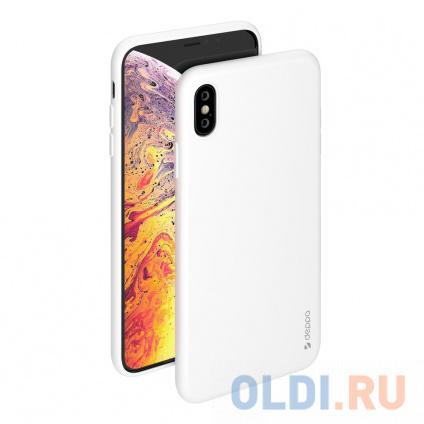 Фото «Чехол Deppa Gel Color Case для Apple iPhone XS Max, белый» в Санкт-Петербурге