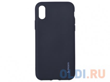 Фото «Чехол Deppa Case Silk для Apple iPhone X/XS, черный металлик» в Ростове-на-Дону
