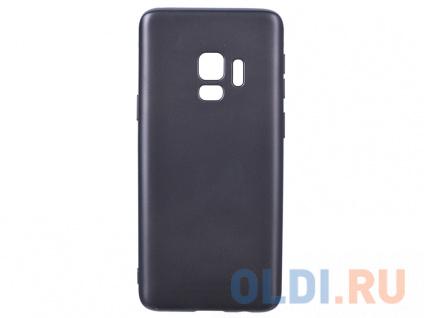 Фото «Чехол Deppa Case Silk для Samsung Galaxy S9, темно-серый металлик» в Новосибирске