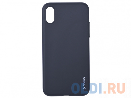 Фото «Чехол-накладка для Apple iPhone X/XS Deppa Gel Color Case Black» в Санкт-Петербурге