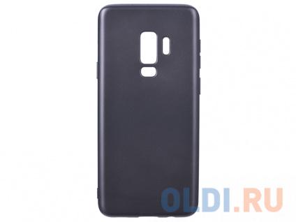 Фото «Чехол Deppa Case Silk для Samsung Galaxy S9+, темно-серый металлик» в Новосибирске