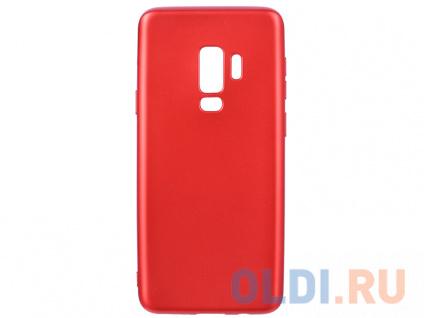Фото «Чехол Deppa Case Silk для Samsung Galaxy S9+, красный металлик» в Новосибирске