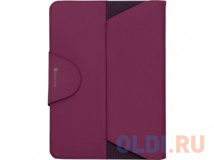 """Фото «Чехол для планшета Samsung Galaxy Tab4 10.1"""" Фиолетовый/Розовый» в Новосибирске"""