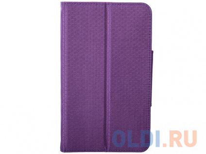"""Фото «Чехол для планшета Samsung Galaxy Tab4 7"""" Фиолетовый/Розовый» в Новосибирске"""