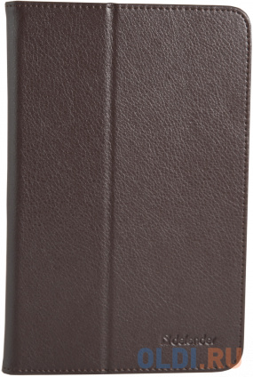 """Фото «Чехол для планшета Defender Leathery case 10.1"""" коричневый» в Новосибирске"""