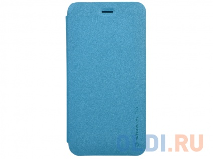 Фото «Чехол-книжка для Apple iPhone 6 Plus Nillkin Sparkle Leather Case Blue» в Новосибирске