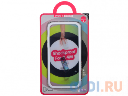 Фото «Чехол-накладка для Apple iPhone 6 Ozaki O!coat Shockase White» в Новосибирске