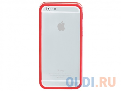 Фото «Бампер для Apple iPhone 6 Promate Bump-i6 Red» в Екатеринбурге