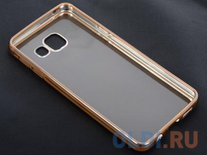 Фото «Чехол-накладка для Samsung Galaxy A3 (2016) DF sCase-22 Gold» в Екатеринбурге