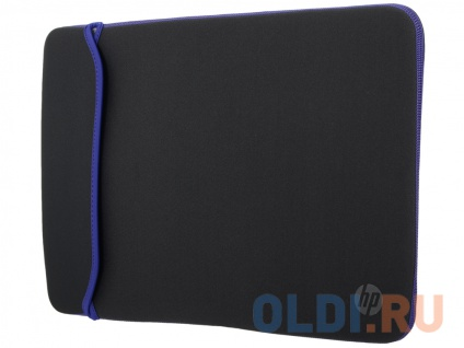 Фото «Чехол для ноутбука HP 15.6 Blk/Blue Chroma Sleeve (V5C31AA)» в Москве