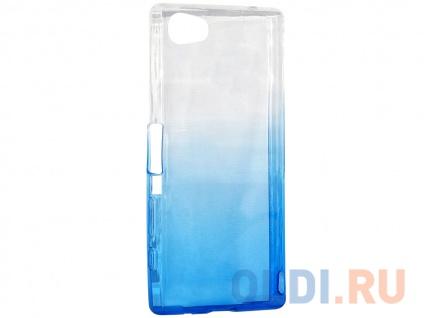 Фото «Чехол-накладка для Sony Z5 Mini/Z5 Compact IQ Format Blue» в Новосибирске