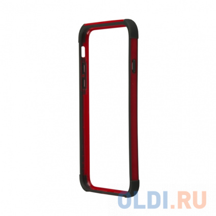 Фото «Бампер для iPhone 6/6s LP HOCO Coupe Series Double Color Bracket Bumper Case Red» в Новосибирске