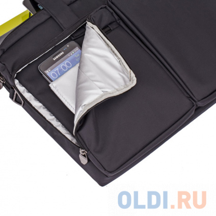 """Фото «Сумка для ноутбука 16"""" Riva 8530 полиэстер черный» в Новосибирске"""