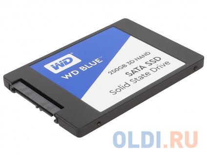 "Фото «Твердотельный накопитель SSD 2.5"" 250GB Western Digital WD Blue 3D NAND SSD WDS250G2B0A (SATA 6Gb/s, 2.5"")» в Новосибирске"