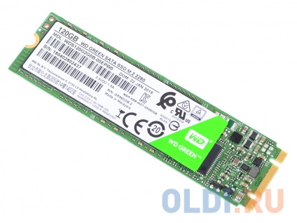 Фото «Твердотельный накопитель SSD M.2 120Gb Western Digital WD Green PC SSD WDS120G2G0B (SATA 6Gb/s, M.2)» в Ростове-на-Дону