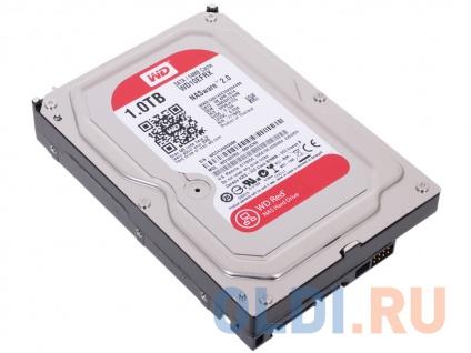 Фото «Жесткий диск 1Tb Western Digital WD Red WD10EFRX, SATA III <64Mb, for NAS>» в Ростове-на-Дону