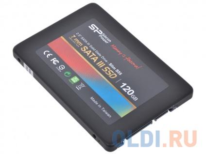 Фото «SSD накопитель Silicon Power Slim S55 SP120GBSS3S55S25 120GB» в Новосибирске