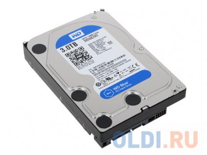 """Фото «Жесткий диск 3Tb Western Digital WD Blue WD30EZRZ 3,5"""" 5400RPM, 64МB , SATA III» в Новосибирске"""