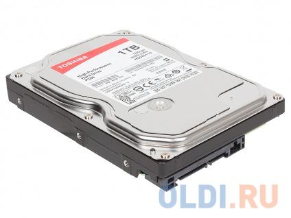 Фото «Жесткий диск Toshiba High-Performance P300 HDWD110UZSVA 1TB» в Москве