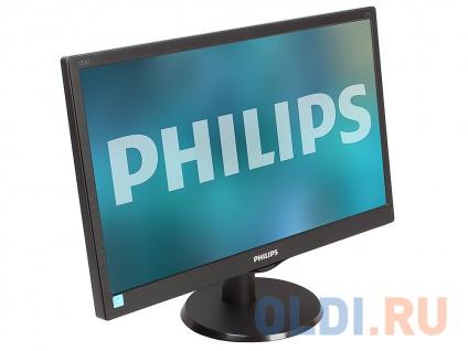 """Фото «Монитор 18.5"""" Philips 193V5LSB2/62(10) Black» в Новосибирске"""