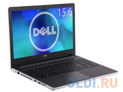 Ноутбук Dell Inspiron 5558 i3-5005U (2.0)/4Gb/500Gb/15,6''HD/NV GT920M 2Gb/DVD-SM/Linux (5558-8887) White glossy + soft palmrest