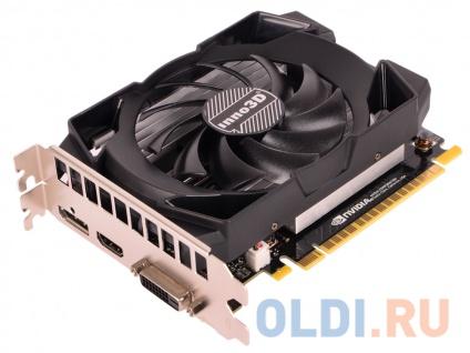 Фото «Видеокарта 2Gb PCI-E Inno3D GeForce GTX 1050 Compact N1050-1SDV-E5CM» в Москве