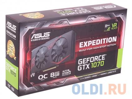 Фото «Видеокарта 8Gb PCI-E ASUS EX-GTX1070-O8G» в Москве