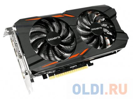 Фото «Видеокарта 4Gb PCI-E GIGABYTE GeForce GTX 1050 Ti Windforce OC 4G GV-N105TWF2OC-4GD» в Москве