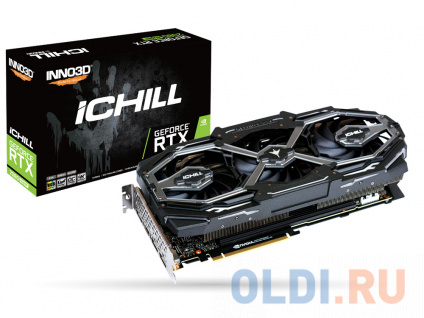 Фото «Видеокарта Inno3D GeForce RTX 2080 SUPER iChill X3 Ultra 8Gb 1650 MHz» в Москве