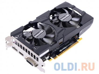 Фото «Видеокарта Inno3D GeForce GTX 1050 Ti Twin X2 N105T-1DDV-M5CM 4Gb 1290Mhz» в Москве