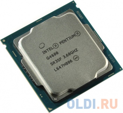 Фото «Процессор Intel Pentium G4600 3.6GHz 3Mb Socket 1151 OEM» в Санкт-Петербурге