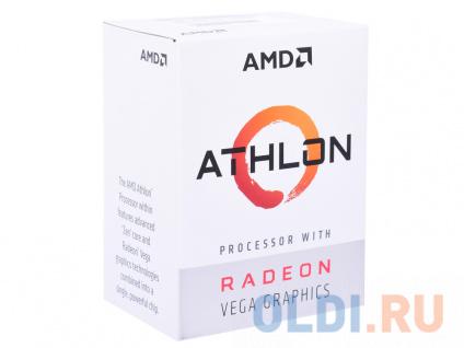 Фото «Процессор AMD Athlon 200GE BOX Radeon Vega Graphics» в Нижнем Новгороде