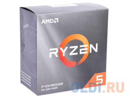 Фото «Процессор AMD Ryzen 5 3600 BOX Wraith Stealth cooler» в Новосибирске